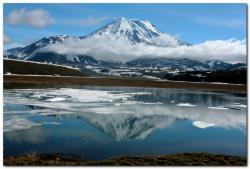 Камчатка, вулкан Ичинская сопка