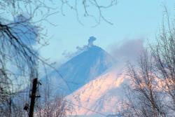 Конус вулкана Ключевского