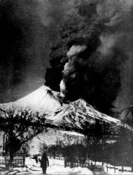Извержение Авачинского вулкана 1945 года