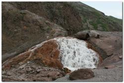 Фотография маршрута к вулкану Кизимен на Камчатке