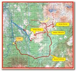Туристический маршрут к вулкану Толбачик на Камчатке