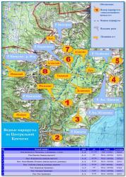 Водные маршруты по рекам полуострова Камчатка