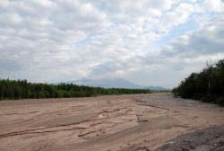 Дорога Ключи — Усть-Камчатск. Мост через реку Кабеку