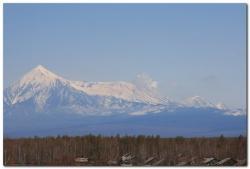 Извержение вулкана Толбачик в Камчатском крае