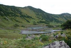 Голубые озера на Камчатке