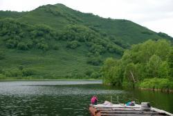 Озеро Микижа. Елизовский район, Камчатский край
