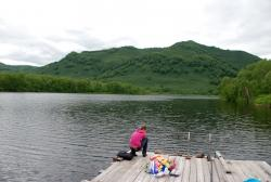 Озеро Микижа. Елизовский район, Камчатка