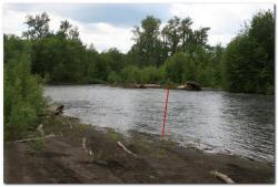 Река Толбачик на Камчатке