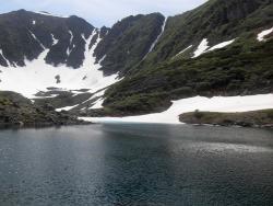 Голубые озёра на Камчатке