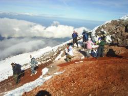 Камчатка, массовое восхождение на Авачинский вулкан