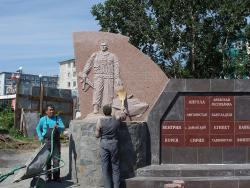 Петропавловск-Камчатский: строительство памятника воинам интернационалистам