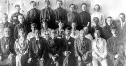 Выпускники Петропавловского высшего начального училища 1921–1922 годов