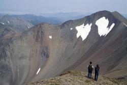 Горный массив Вачкажец на Камчатке