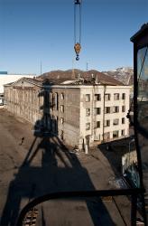 Снос здания морского вокзала в Петропавловске-Камчатском