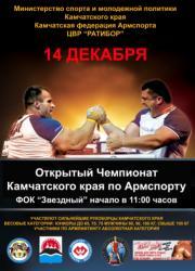 Чемпионат Камчатского края по армспорту
