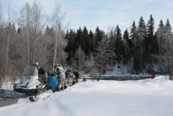 "Туристический маршрут на снегоходах ""Кизименское кольцо"""