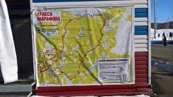 Трасса Авачинского марафона
