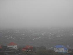 Петропавловск-Камчатский, туман, дождь