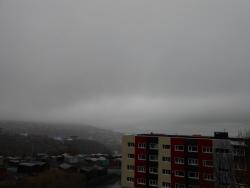 Дождь, туман в Петропавловске-Камчатском