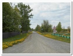 Дорога в селе Лазо Мильковского района Камчатского края