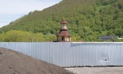 Строительство этнодеревни в центре Петропавловска-Камчатского