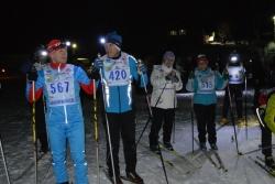 """Участники ночной лыжной гонки """"Мильковский экстрим"""""""