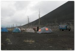 Путешествия по вулкану Толбачик на Камчатке