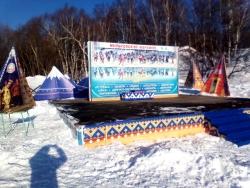 """Камчатский край, село Мильково, лыжная база """"Веселая горка"""""""