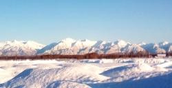 Мильковский зимний пейзаж