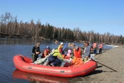 Открытие водного туристского сезона на Камчатке