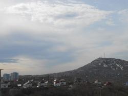 Утренний вид на город Петропавловск-Камчатский