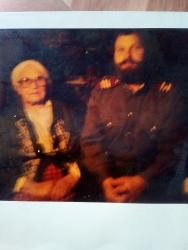 Татьяна Тегретгеут с внуком Анатолием