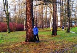 Зима в городе Санкт-Петербурге