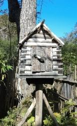 Дом ительменского Духа Земли