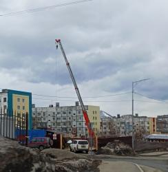 Строительство на улицеЗвездной в Петропавловске-Камчатском